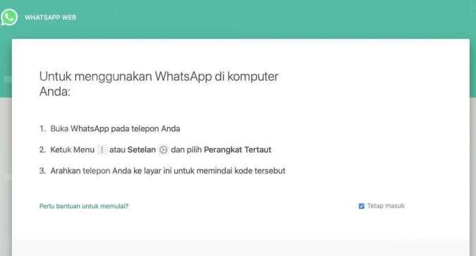 WhatsApp (WA) Web
