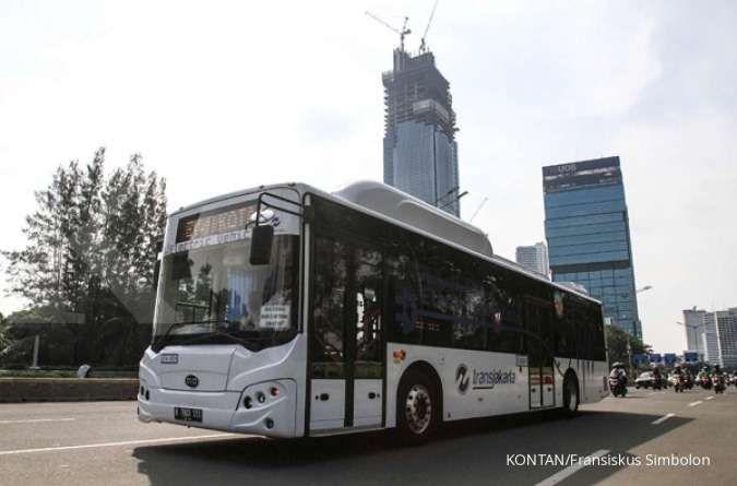 Tahun 2021, Transjakarta targetkan 100 bus listrik beroperasi di Jakarta
