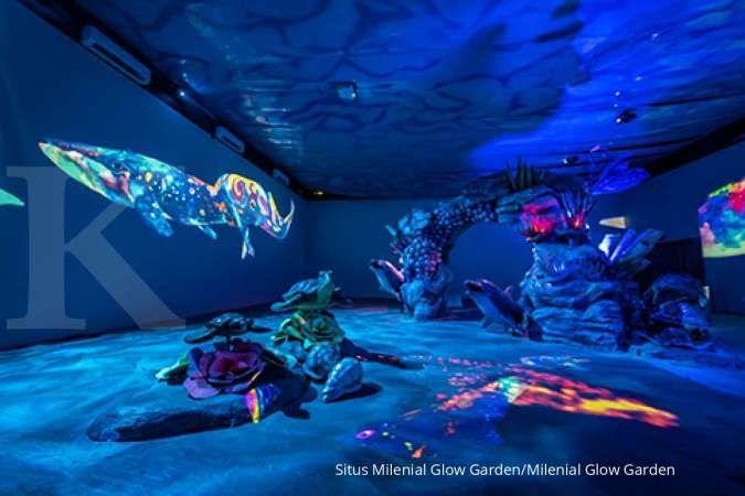 Suka foto-foto? Coba kunjungi Milenial Glow Garden di Malang