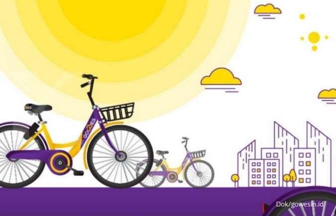 Hore! DKI Jakarta punya bike sharing, simak lokasi sewanya