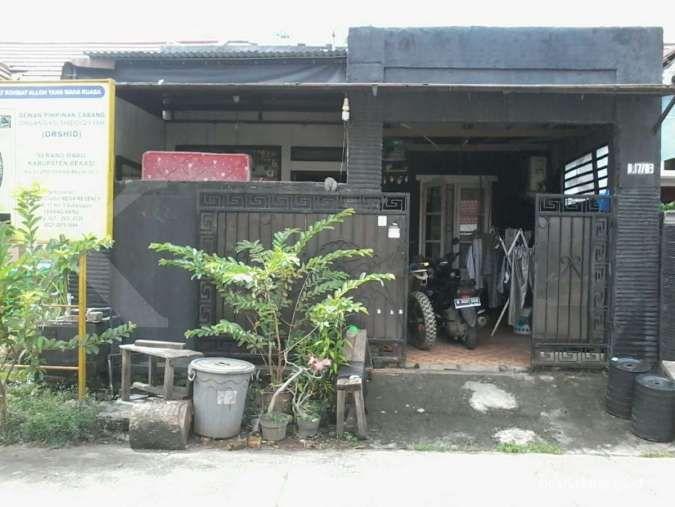 lelang rumah murah sitaan BRI di Bekasi