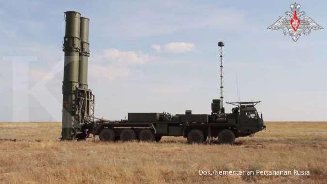 Rusia mulai menempatkan sistem pertahanan udara S-500 di Kota Moskow