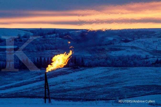 Permintaan naik, harga gas alam ikut terkerek