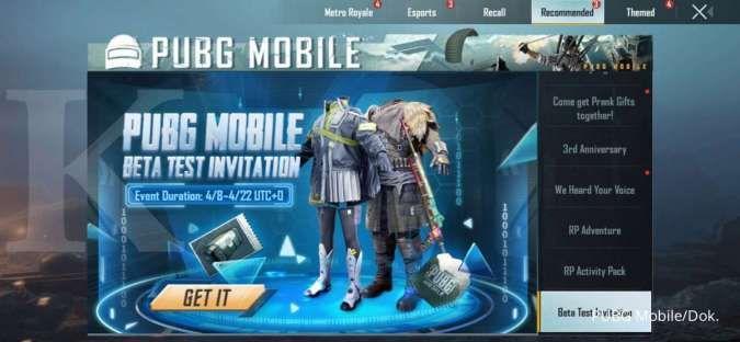 PUBG Mobile 1.4 Beta Test