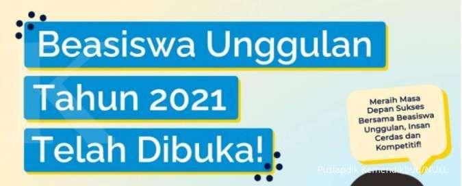 Beasiswa Unggulan 2021 dari Kemendikbudristek sudah dibuka, ini infonya