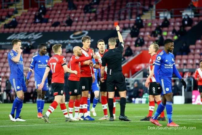 Hasil laga Southampton vs Leicester City di Liga Inggris