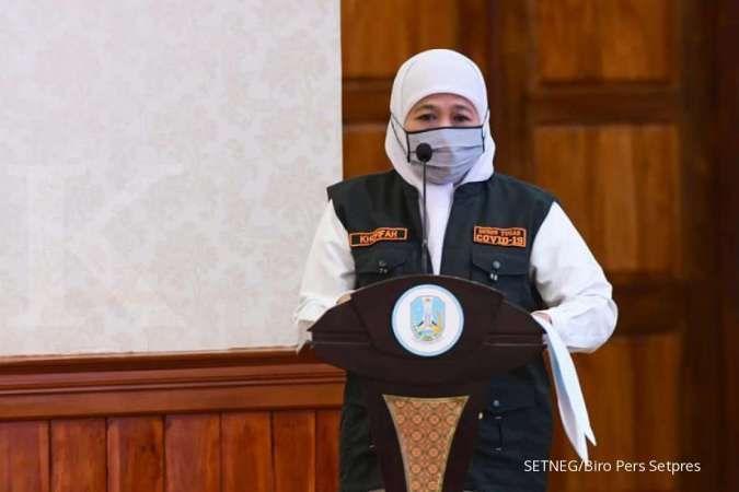 Ini Penjelasan Khofifah Soal Kasus Covid 19 Di Jawa Timur Tertinggi Di Indonesia