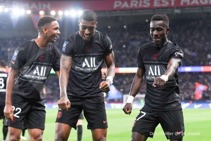 Hasil Ligue 1 PSG vs Montpellier: Les Parisiens bungkam La Paillade 2-0