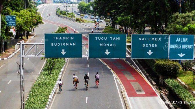 Car free day digelar hari ini, ada jalur pelari, pejalan kaki dan pesepeda