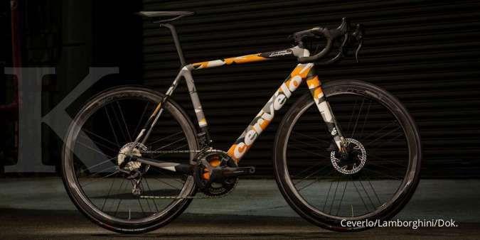 Dijual terbatas, harga sepeda balap Cervelo R5 Lamborghini mahalnya bukan main!