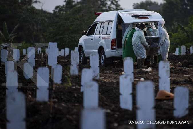 Duh, 20 provinsi catat kenaikan kasus kematian akibat Covid-19