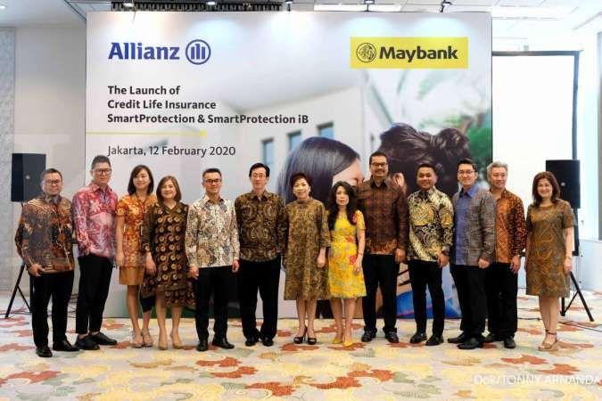 Allianz Life gandeng Maybank berikan perlindungan asuransi jiwa berjangka menurun