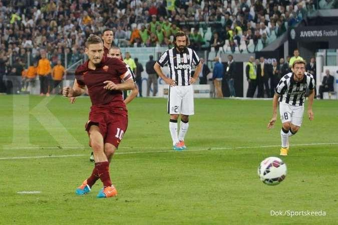 Fransesco Totti sebagai eksekutor penalti terbaik