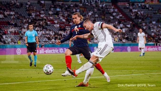 Hasil laga Prancis vs Jerman di Grup F Euro 2021