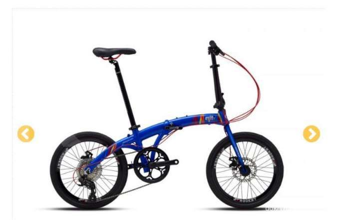 Sudah beredar di pasaran, harga sepeda lipat Wimcycle Pocket Rocket ringan di kantong