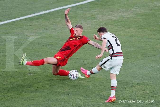 Hasil Euro 2020 antara Belgia vs Portugal di babak 16 besar