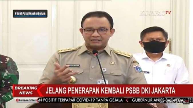 Ingat, mulai hari ini Pemprov DKI Jakarta kembali berlakukan PSBB transisi