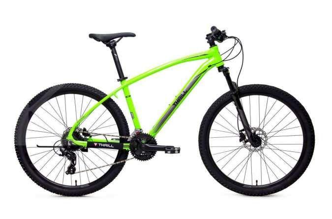 Simak harga sepeda gunung Thrill Cleave 1.0 terkini, penampilannya sporty & colorful