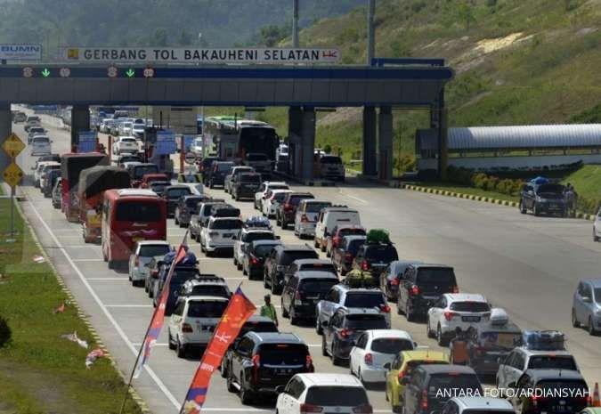 Seminggu jelang Lebaran, 300.000 kendaraan melintasi tol Trans Sumatra