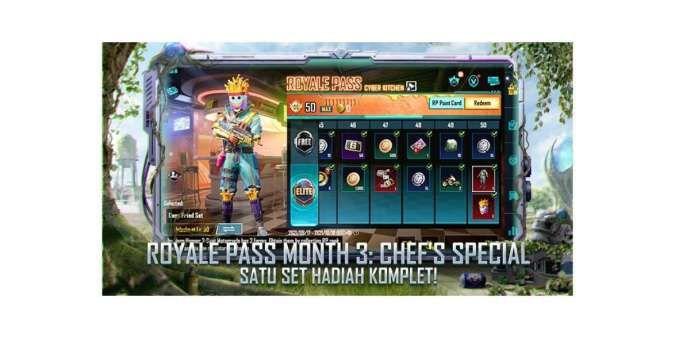 Royale Pass PUBG Mobile 1.6