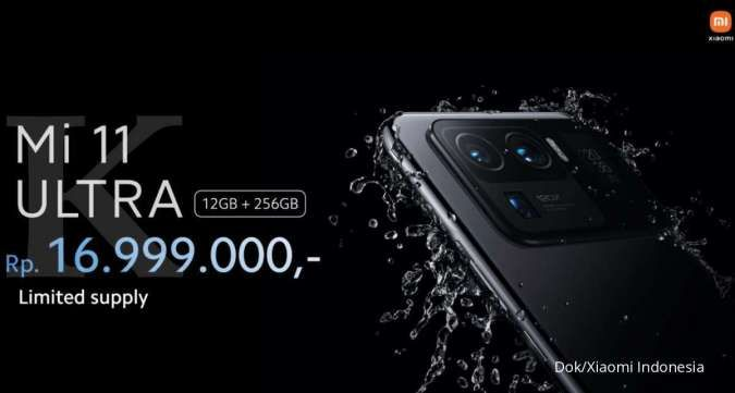 Akhirnya hadir di Indonesia, harga Xiaomi Mi 11 Ultra dibanderol Rp 17 jutaan!