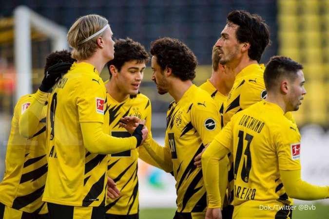 Hasil pertandingan Sevilla vs Dortmund di Liga Champions