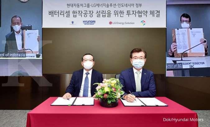 Kemenko Marves sambut proyek pembangunan pabrik baterai EV oleh Hyundai dan LG