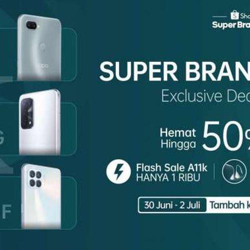OPPO Bersama Shopee Siap Menggelar Super Brand Day