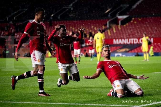 Hasil pramusim Man United vs Brentford: Setan Merah tertahan oleh The Bees 2-2