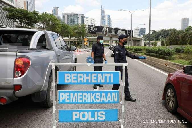 Meski lockdown, kasus harian COVID-19 di Malaysia tembus 15.000