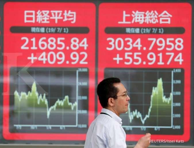 Bursa Asia ambrol di tengah kekhawatiran konflik AS-Iran