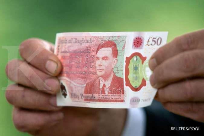 Poundsterling memberikan untung paling tinggi di antara valas lain terhadap rupiah