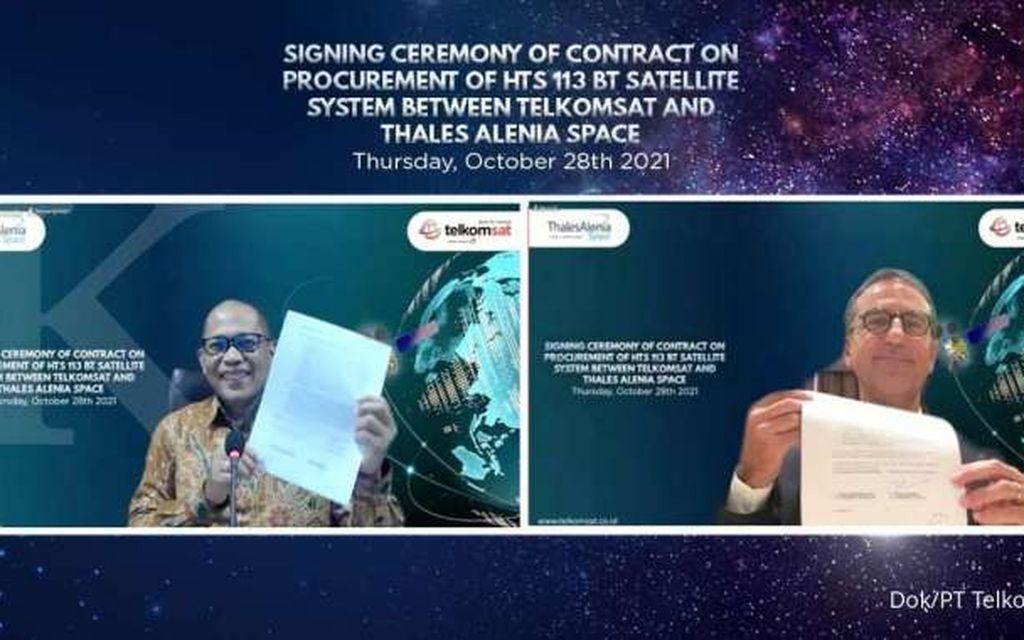 Wujudkan Semangat Sumpah Pemuda, Telkom Bangun High Throughput Satellite untuk Kedaulatan Digital Indonesia
