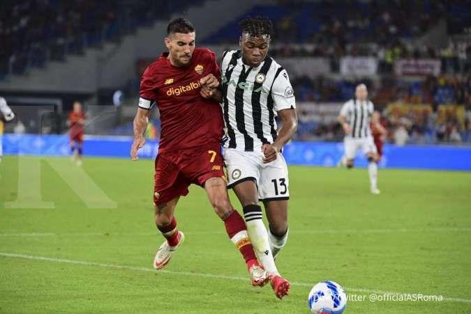 Hasil AS Roma vs Udinese di Liga Italia Serie A