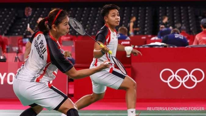 Jadwal Atlet Indonesia di Olimpiade Tokyo hari ini, Greysia Polii - Apriyani Rahayu
