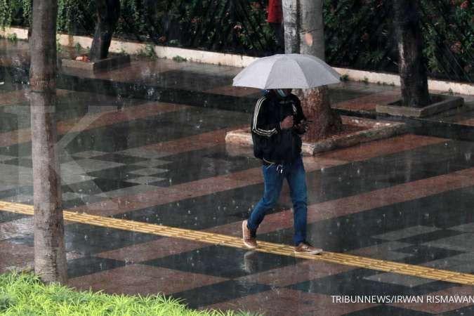 Cuaca besok di Jabodetabek sebagian hujan ringan-sedang, waspada angin kencang