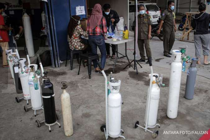 Ini upaya pemerintah penuhi kebutuhan oksigen dalam penanganan pandemi