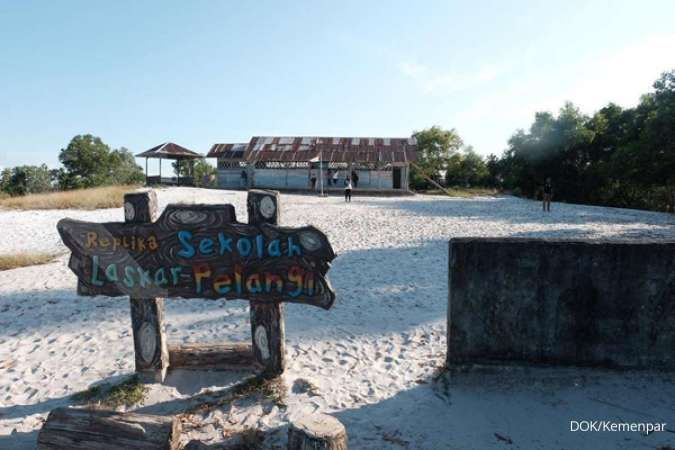 Harga tiket pesawat naik, pariwisata di Belitung lesu