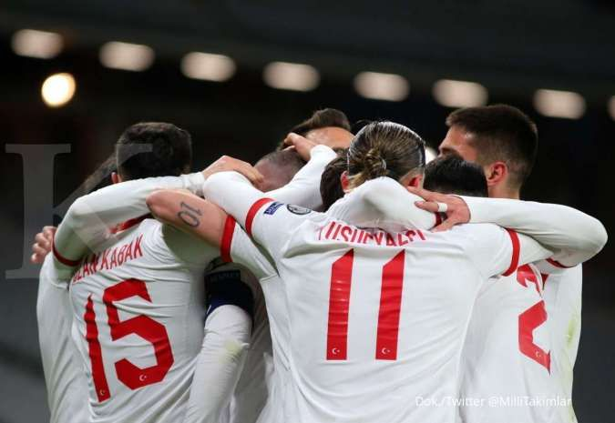 Turki vs Belanda: Bekuk Tim Oranye 4-2, Burak Yilmaz cetak hattrick