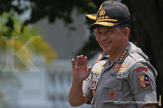 Tito Karnavian isyaratkan Idham Azis jadi penggantinya sebagai Kapolri baru