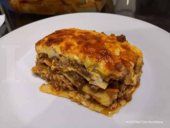 Resep cepat, mudah, murah lasagna panggang yang lumer di mulut