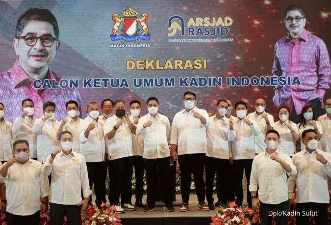 Kadin Sulut deklarasi dukungan untuk Arsjad Rasjid