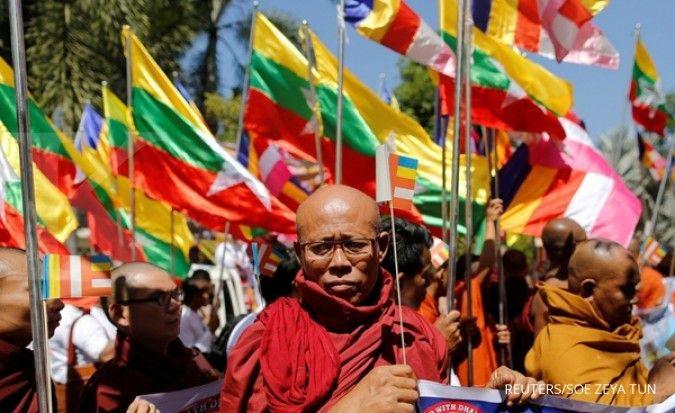 Ledakan dari bom parsel di Myanmar telah menewaskan lima orang