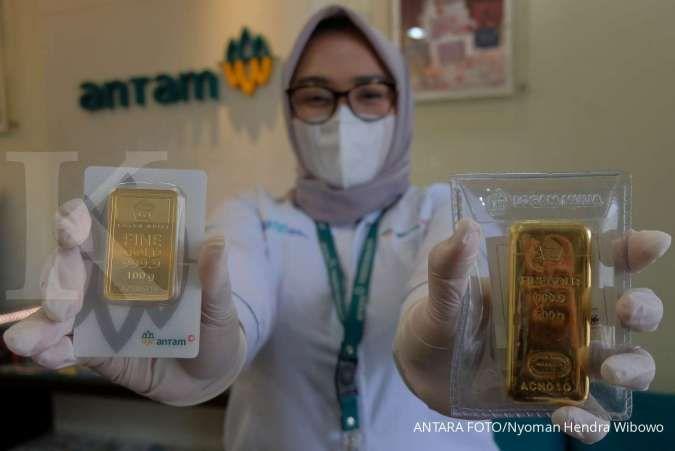 Harga Emas Antam Naik Rp 4.000 Hari Ini 15 September, Simak Daftarnya!