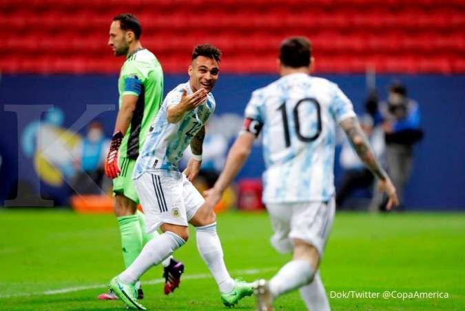 Final Copa America 2021 antara Argentina vs Brasil