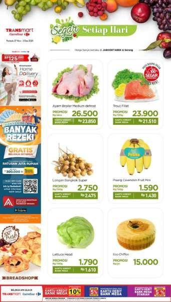 Promo Transmart Carrefour Hari Ini 29 November 2020 Diskonan Masih Ada