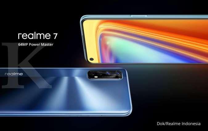 Hadir lengkap dengan koneksi NFC, harga HP Realme 7 kini lebih murah Rp 300.000