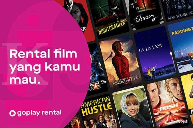 Nobar hemat bersama GoPlay Rental hanya Rp 15.000 hingga Rp 29.000 per konten
