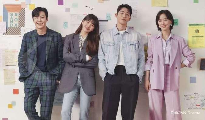 Kim Seon Ho dalam poster drama Korea terbaru Start-Up di tvN.
