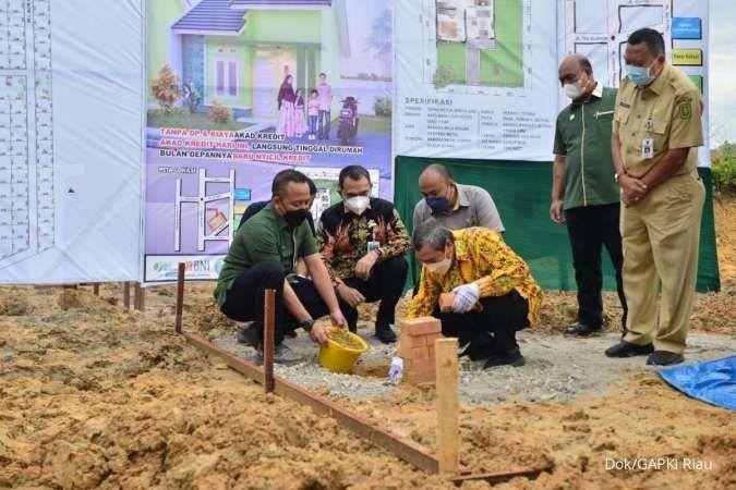 Pemprov Riau gandeng GAPKI bangun 1.000 rumah untuk buruh sawit